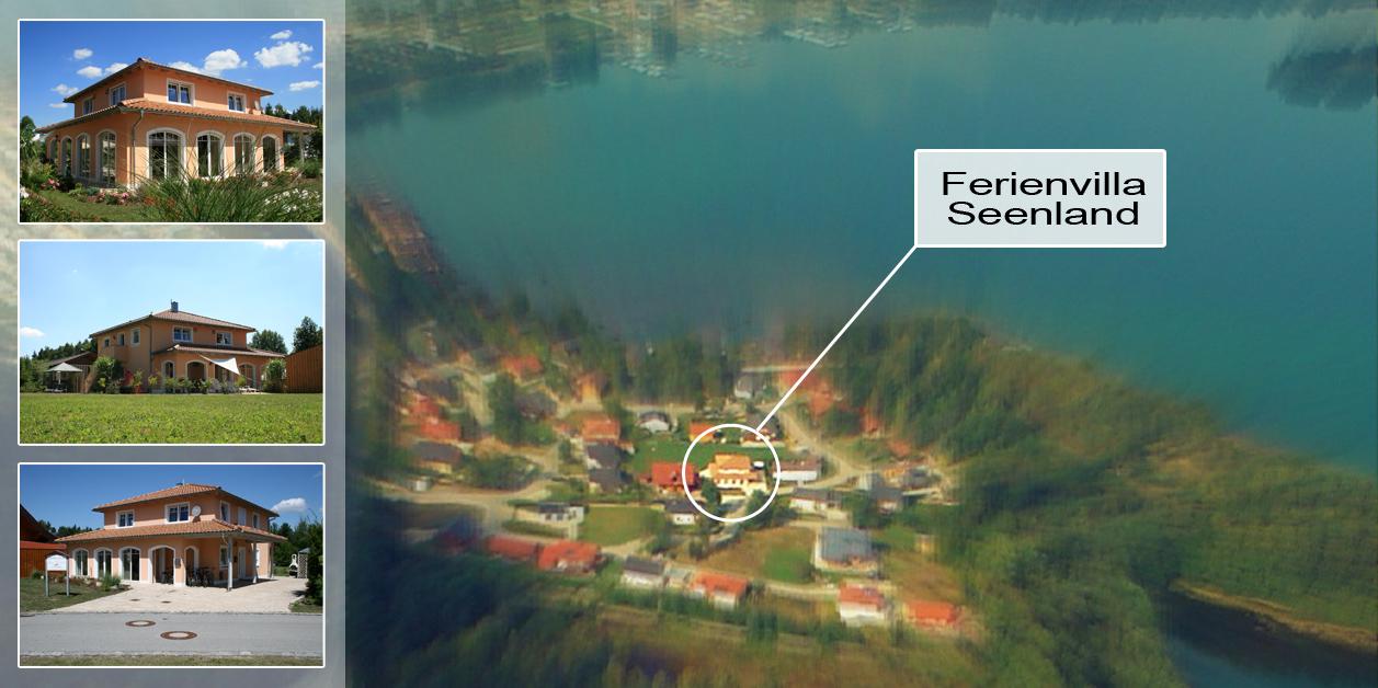Ferienvilla Seenland am Brück See, Oberpfalz/ Bayern (Lage)