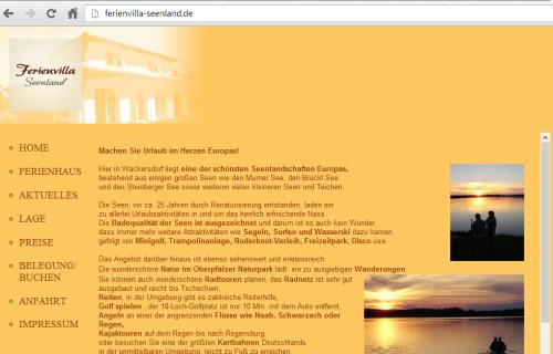 NEWS Alte Website Relaunch