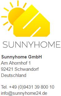 Impressum _Sunnyhome